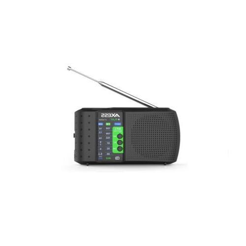 pr3206 black portable rechargeable am