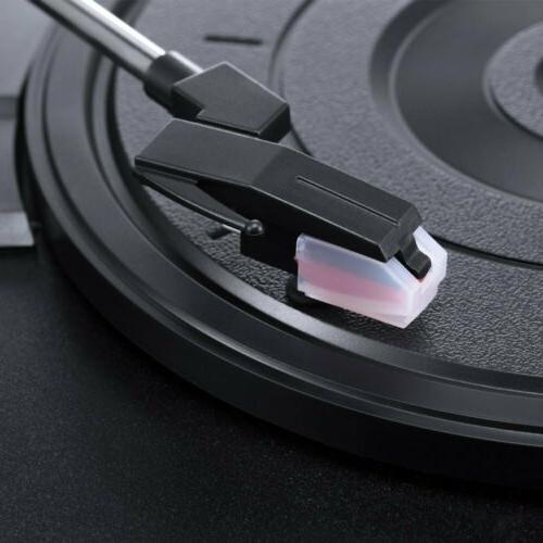 Premium Turntable Player Stereo Speaker USB