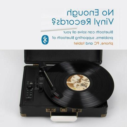 Premium Turntable Record Player Stereo Speaker USB