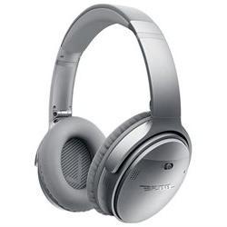 Bose QuietComfort 35 Wireless Headphones - Stereo - Silver -