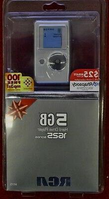 RCA H115 5GB HARD DRIVE PLAYER