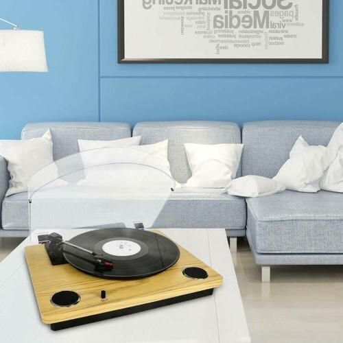 Record Player Max Pad Vinyl Speakers Vinyl MP3