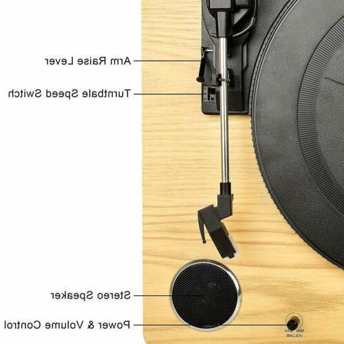 Record Player Vinyl Speakers Vinyl MP3