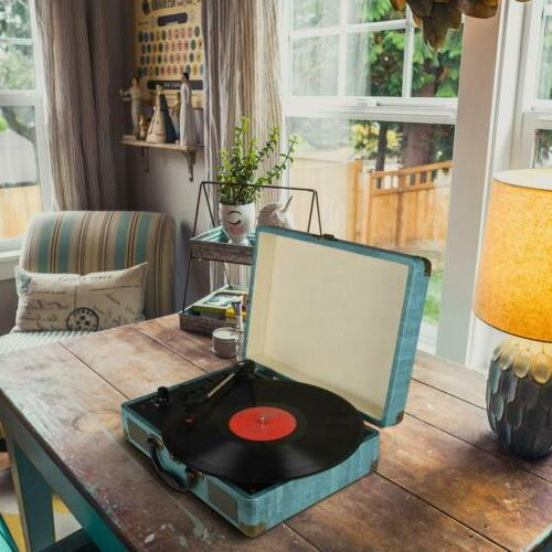Record Player Bluetooth Stereo