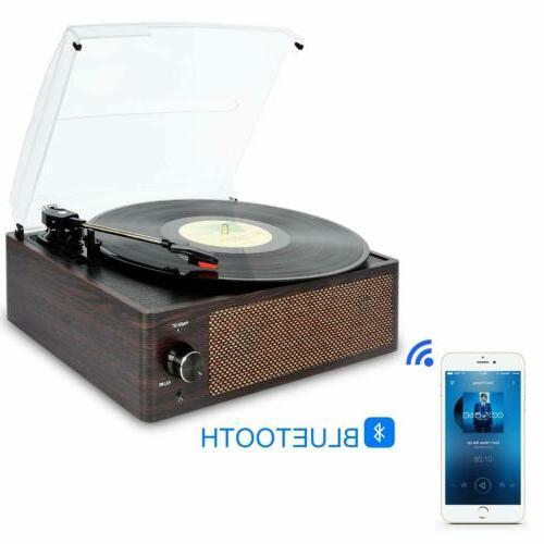 Record Player Vinyl Player Bluetooth Vinyl Turntable LP Belt