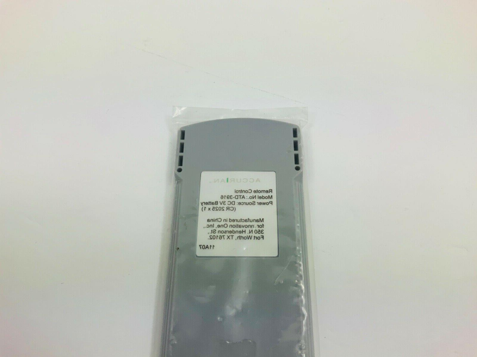 Accurian Remote Control For Model DVD Player New