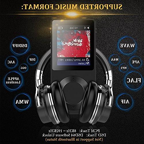 AGPTEK MP3 ROCKER V2 High Digital Audio up 256GB,