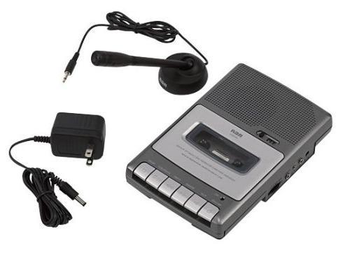 RCA RP3503 Analog Voice Recorder - Portable