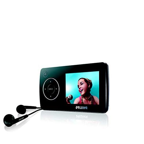 Philips Flash Player with FM 1.8-Inch Color