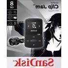 BRAND NEW SanDisk Sansa Clip Jam 8GB MP3 Player, Black