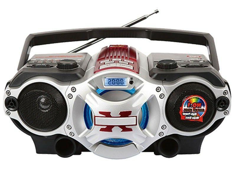 Supersonic SC-1495BT Portable Audio System w/Bluetooth/AM/FM