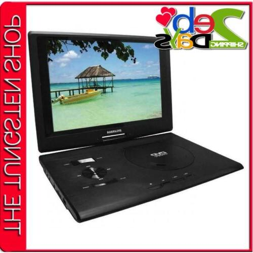 sdvd1332 13 3 inch swivel screen portable