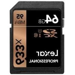 Lexar Professional 64 GB SDXC - Class 10/UHS-I  - 95 MB/s Re