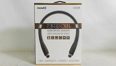 Sentry Pro Series Bluetooth On the Neck Headphones WORKOUT G