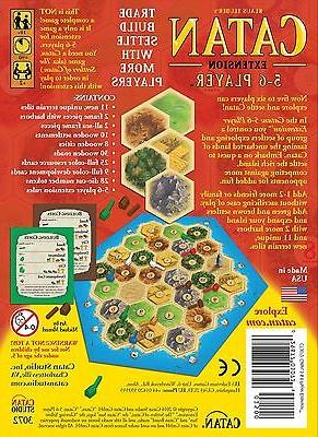 Settlers Catan Board Game 5th Edition 5-6 Player NEW