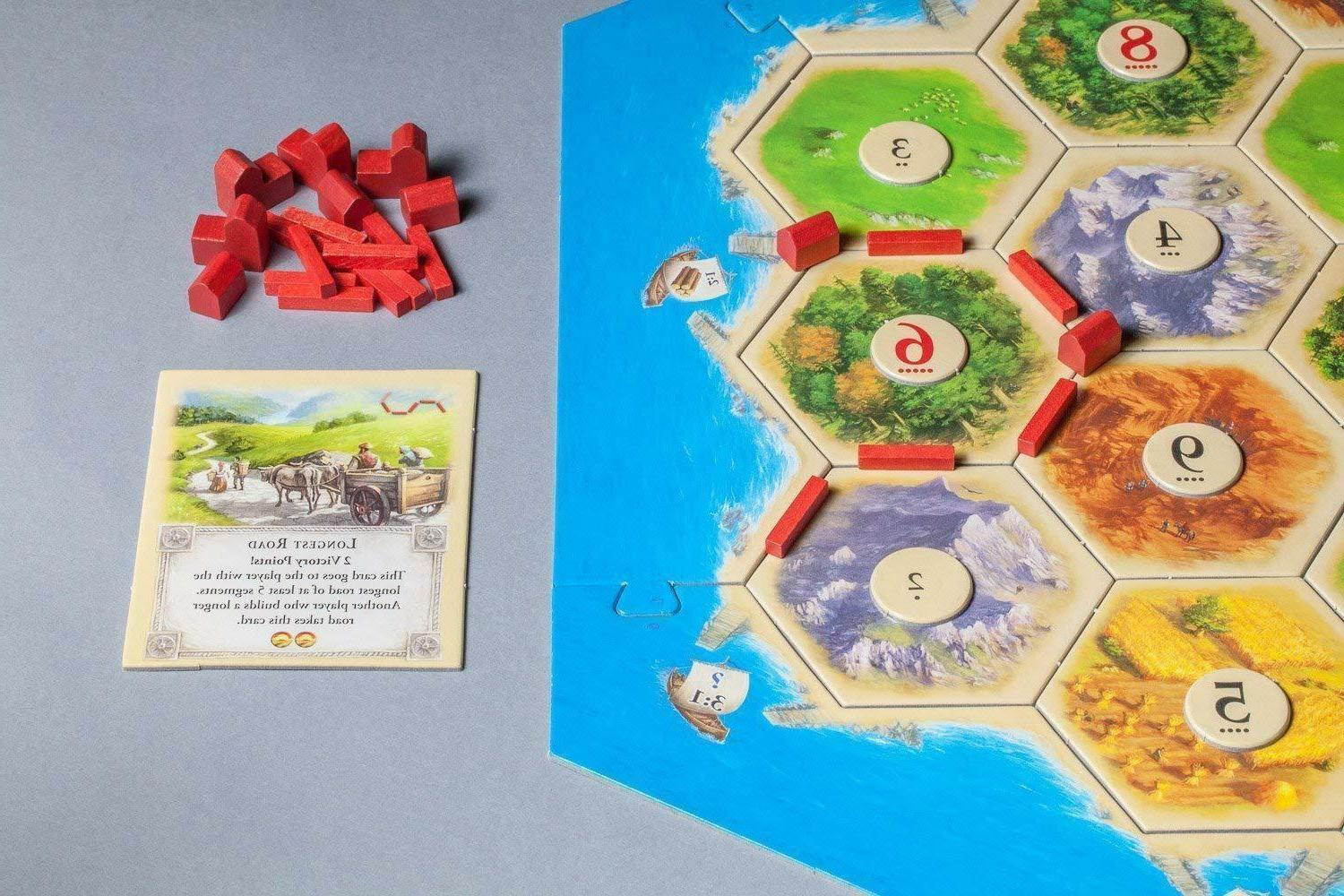 Settlers Game 5th Player EXTENSION NEW