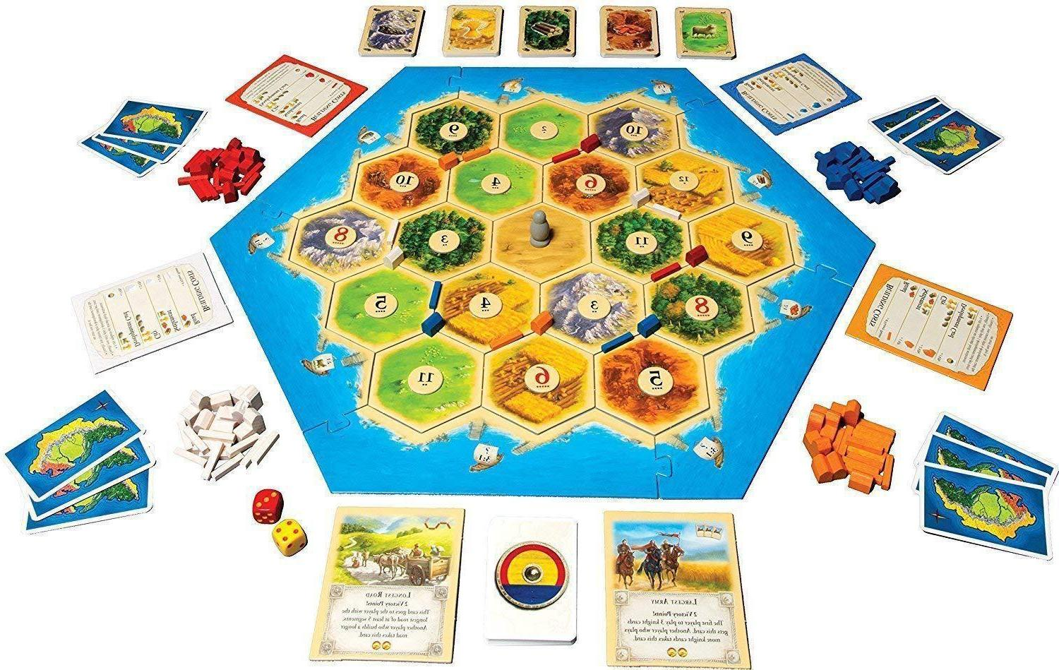Settlers Catan Game Edition Player NEW