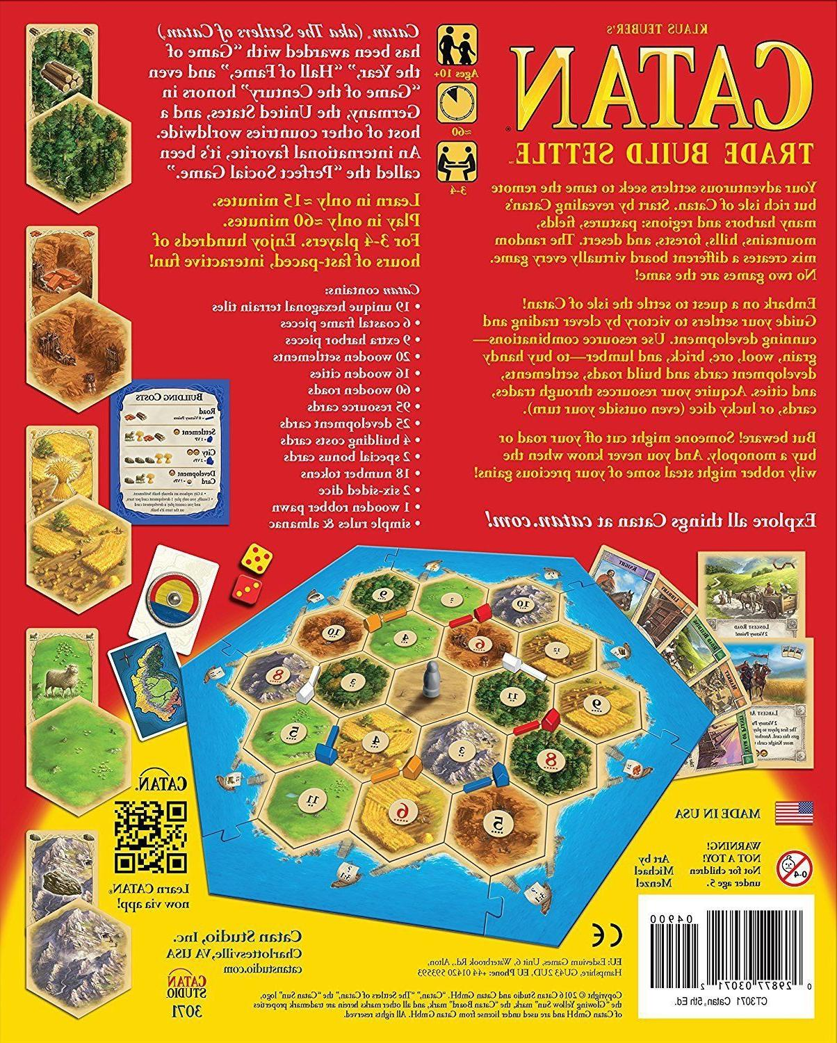 Settlers of Game Edition Player NEW