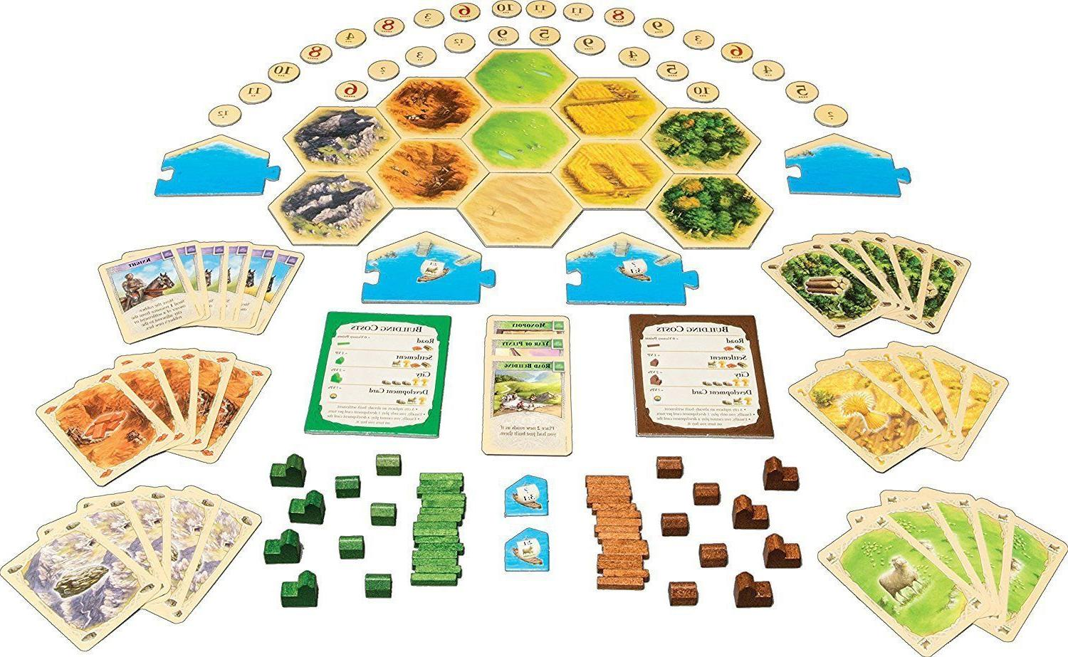 Settlers of Game 5-6 Player EXTENSION NEW