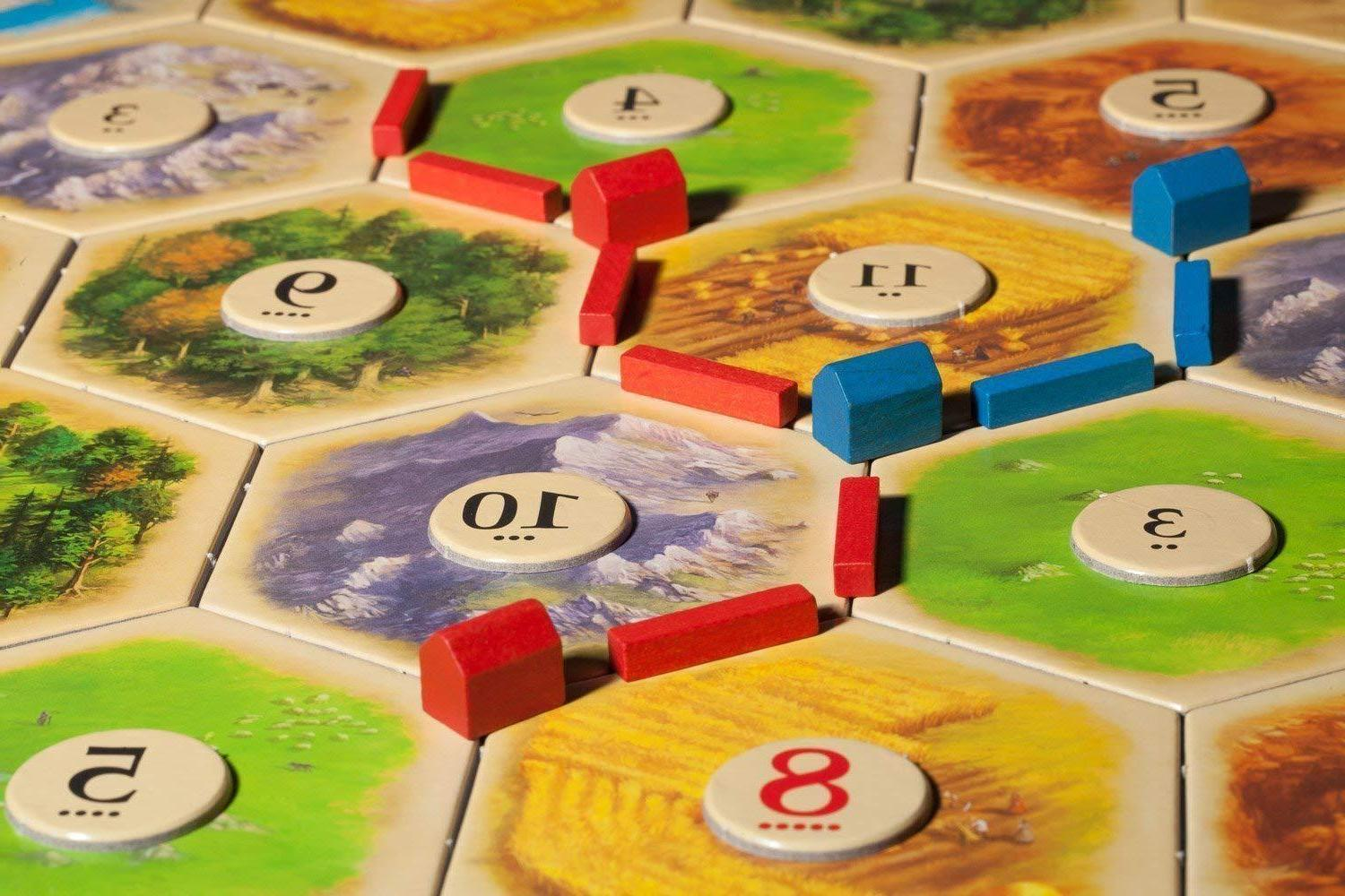 Settlers of Catan Game Player EXTENSION EXPANSION NEW
