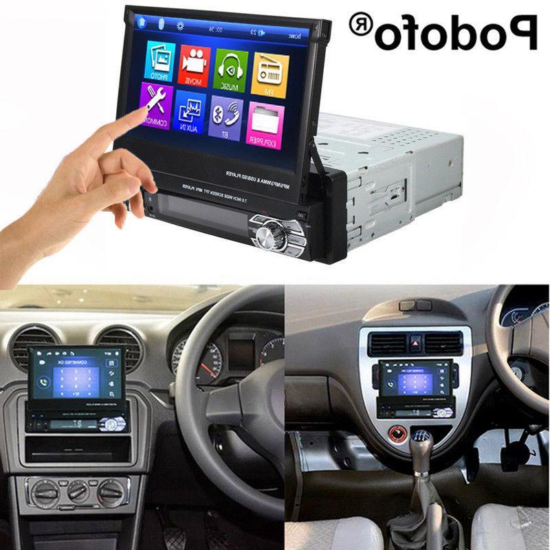 Single 1 GPS Flip Stereo Radio Touch USB + Map
