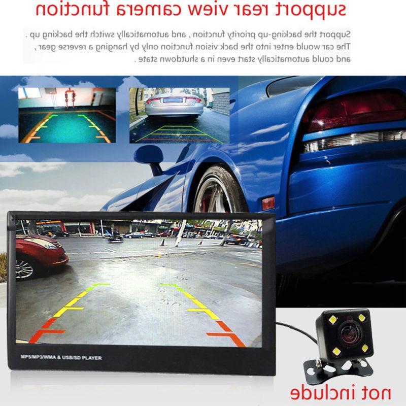 "Single 1Din 7"" Flip Car Radio Touch SD"