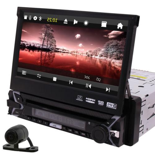 Single 1DIN Car Stereo DVD Player Radio