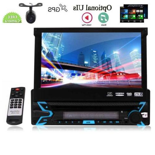 Single Car VCD Player Radio