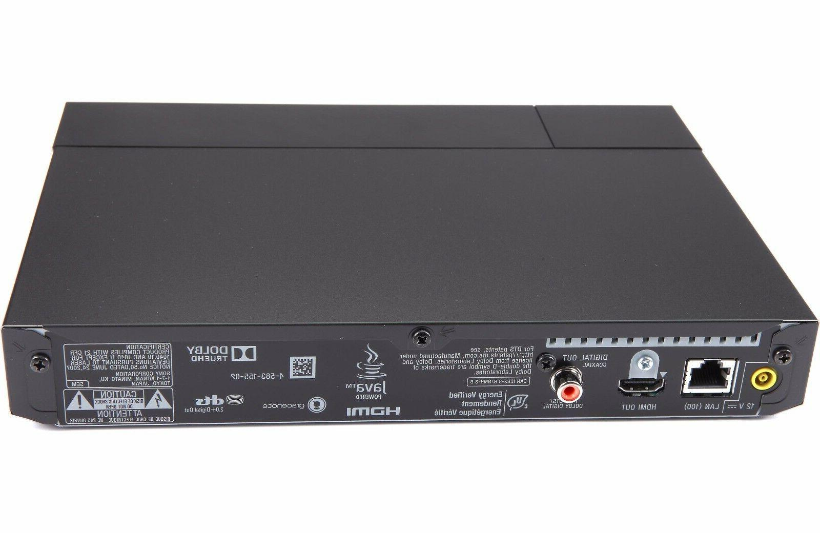 Sony Smart UHD Upscaling Player w/ WiFi Bluetooth