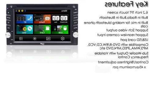 "Sony 6.2""Car Stereo DVD GPS MP3 HD BluetoothRadio"
