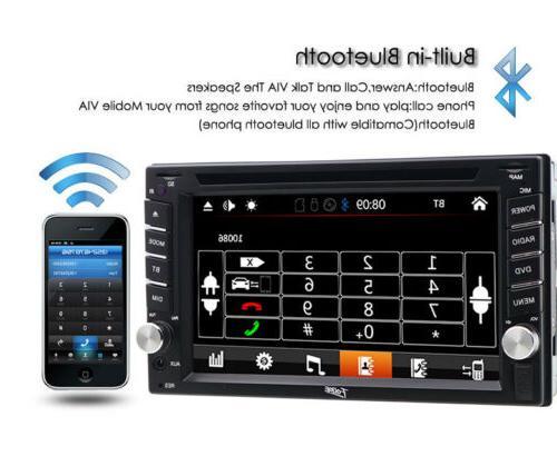 "Sony 2Din 6.2""Car DVD MP3 Player BluetoothRadio"