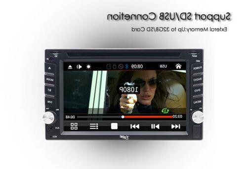"Sony Double 2Din 6.2""Car Stereo MP3 BluetoothRadio"