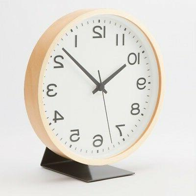MUJI for mounted player Clock Silver MJ-1601 MoMA