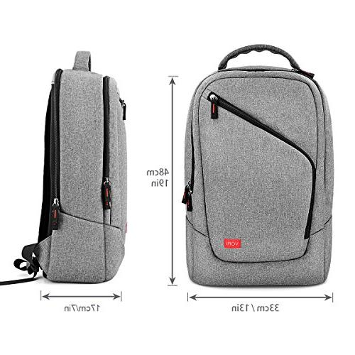 Backpack-Multifunction for Nintendo Variety Game Accessories/PC/Pad/e-book-Light Gray