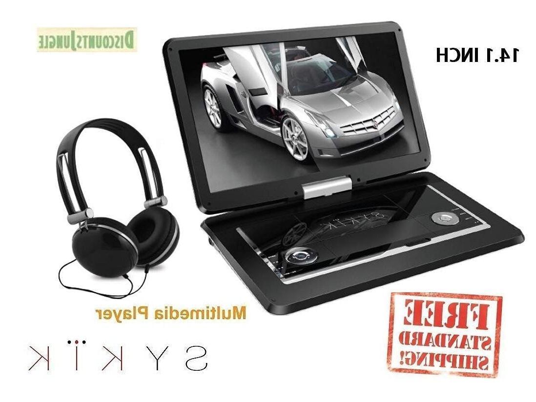 Sykik SYDVD0133 14.1''  All multi region zone free HD swivel