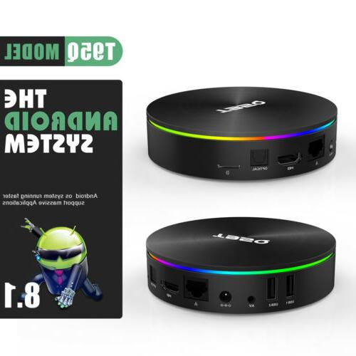 T95Q TV S905X2 4+32G Wifi Android8.1 4K Player