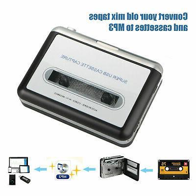 Tape to Cassette MP3 Converter Capture Digital Music Player