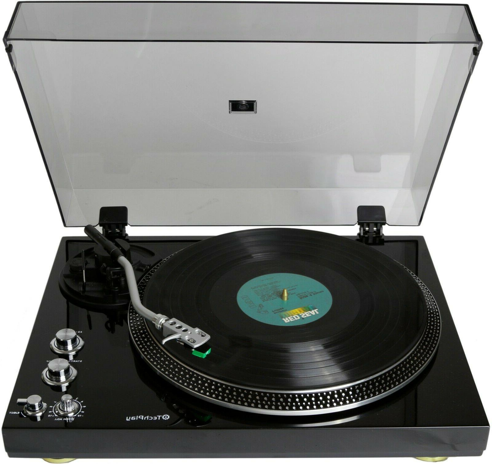 TechPlay TCP4530 Player Turntable RPM Out