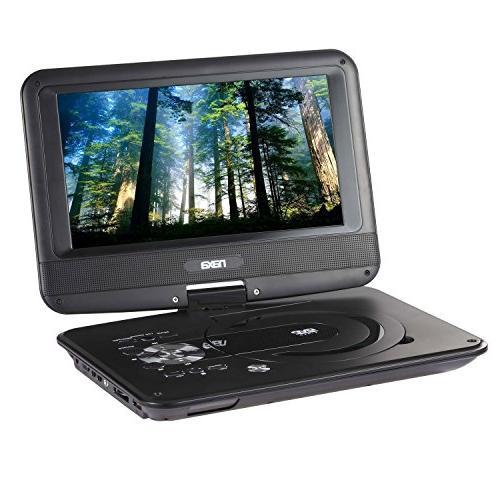 tft swivel portable dvd player