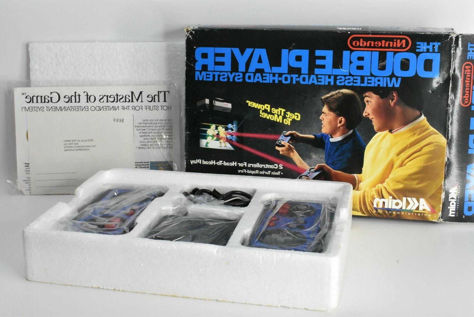 the nes double player wireless head to