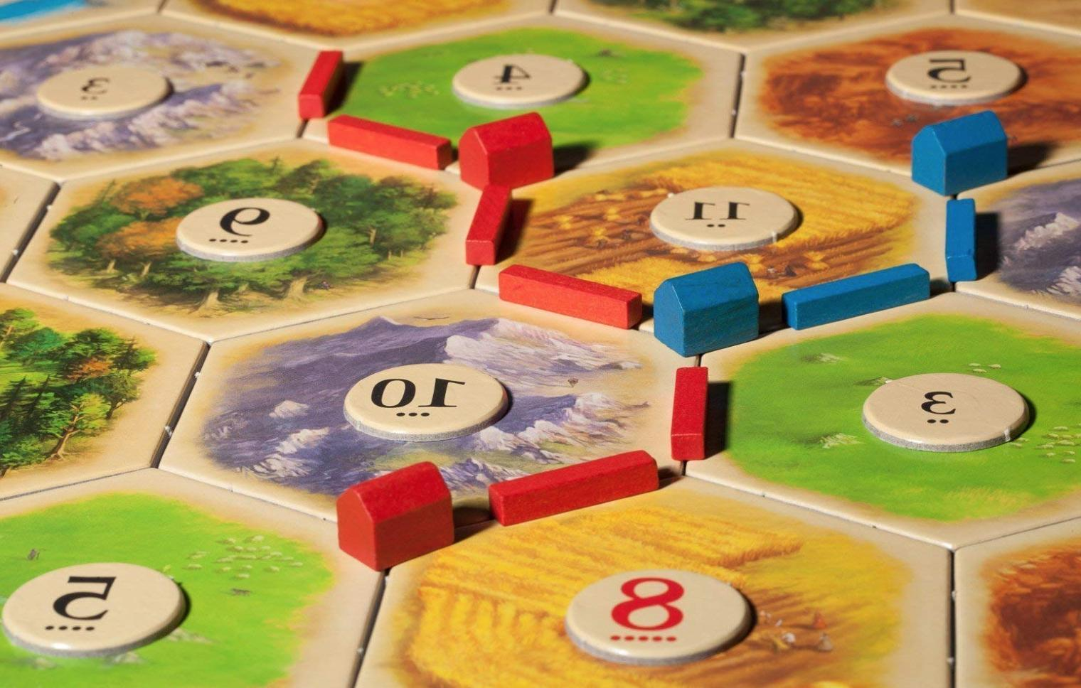 The Settlers 5th Board + Player Expansion Extension
