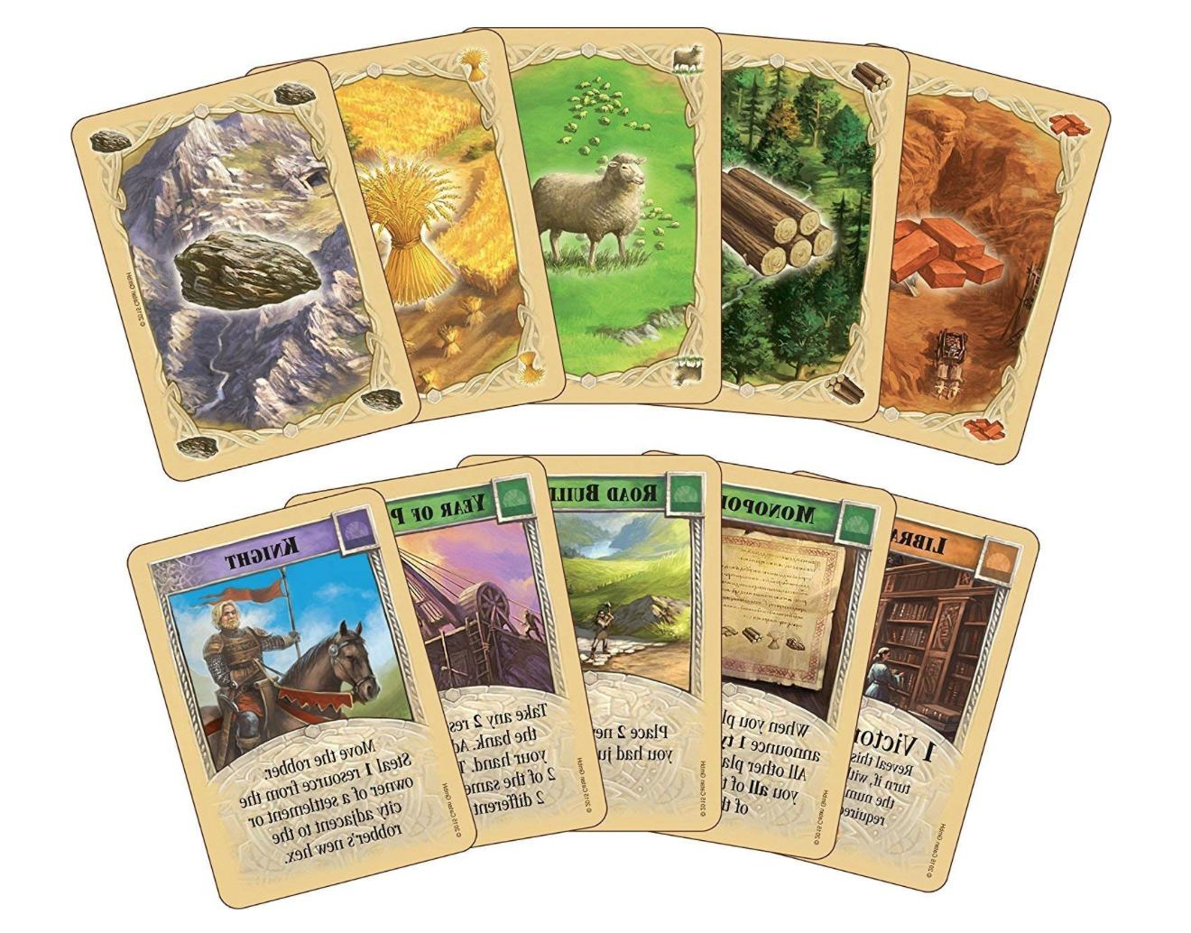 The Settlers of 5th Edition Board Game + Expansion Extension