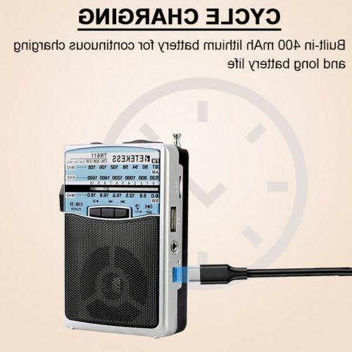 Retekess TR611 Portable AM FM Shortwave