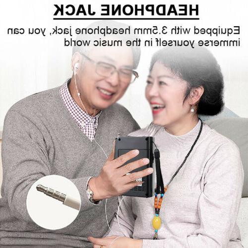 Retekess Portable AM FM Mini Shortwave Earphone Gift