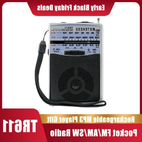 tr611 portable am fm radio mini transistor