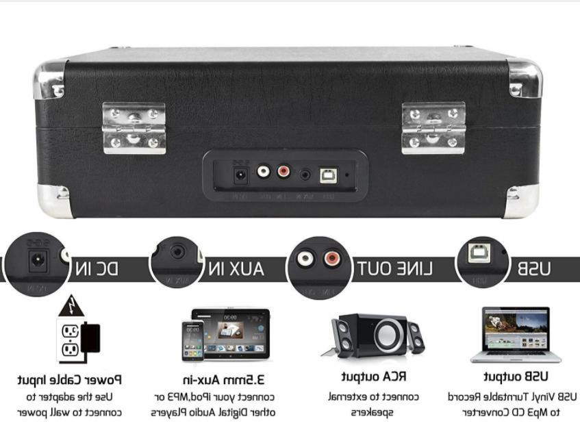 Jorlai Musitrend Portable Built-in Speakers