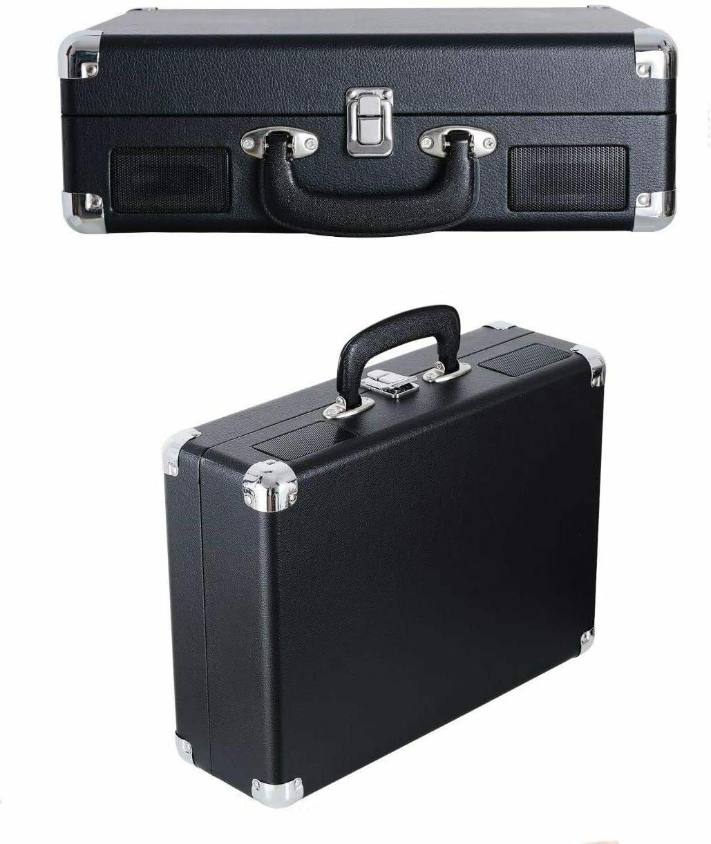 Jorlai Musitrend Turntable Portable Built-in Speakers