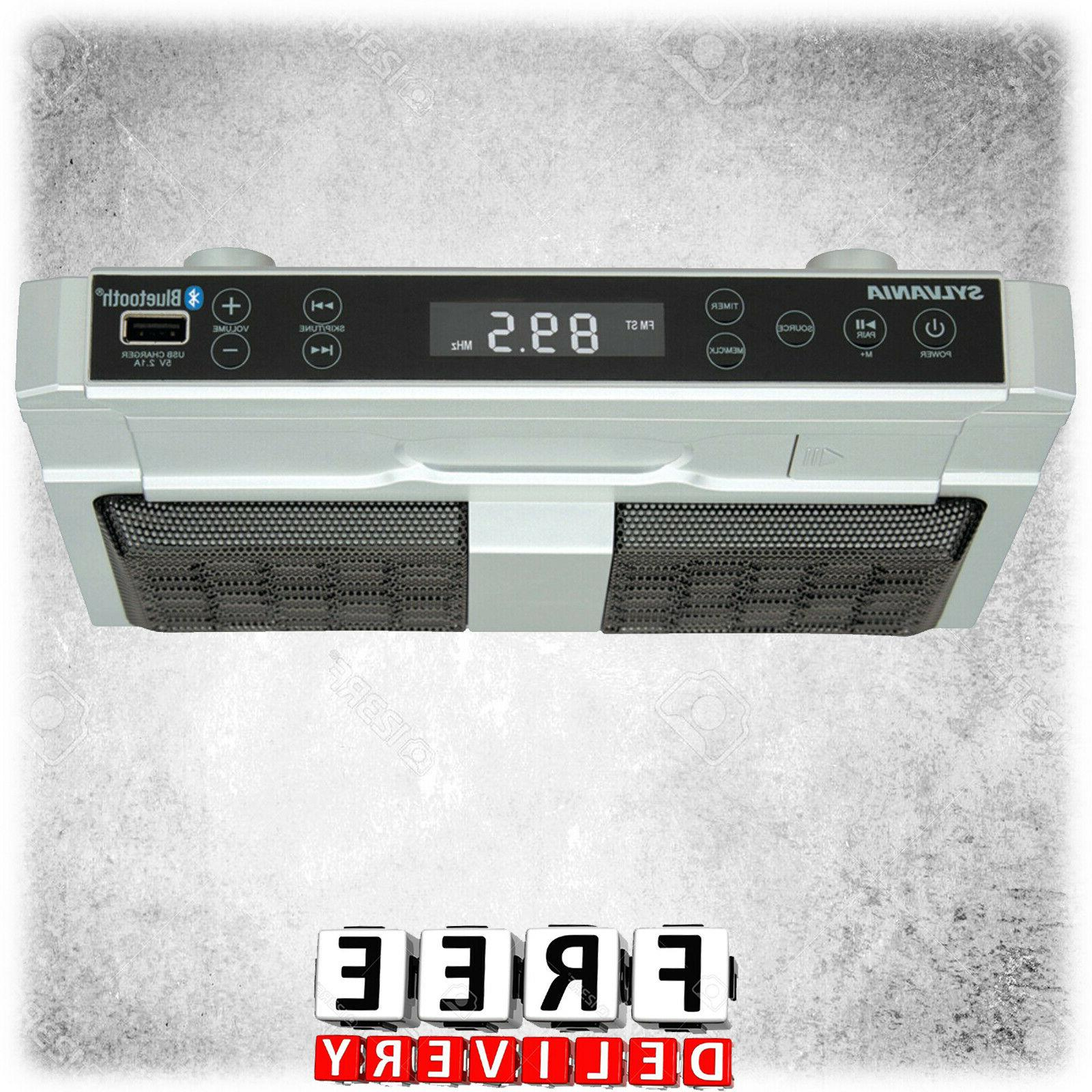 Under Counter Cabinet Player Radio Bluetooth Streaming Stere