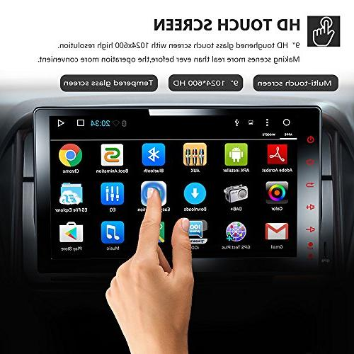Amaseaudio TFT Touch Screen Android 7.1 Radio 1 Deckless In-Dash Head Units E46 318 325