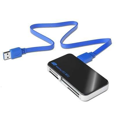 USB 3.0 All 1 Compact Card Reader Micro SD MS 5Gbps